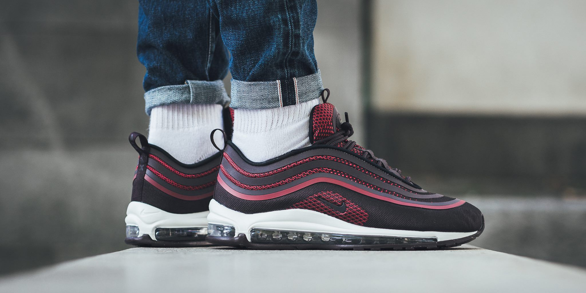 Look Out For The Nike Air Max 97 Ultra Noble Red  97bd8f9f1