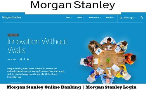 Morgan Stanley Online Banking | Morgan Stanley Login - Tecteem