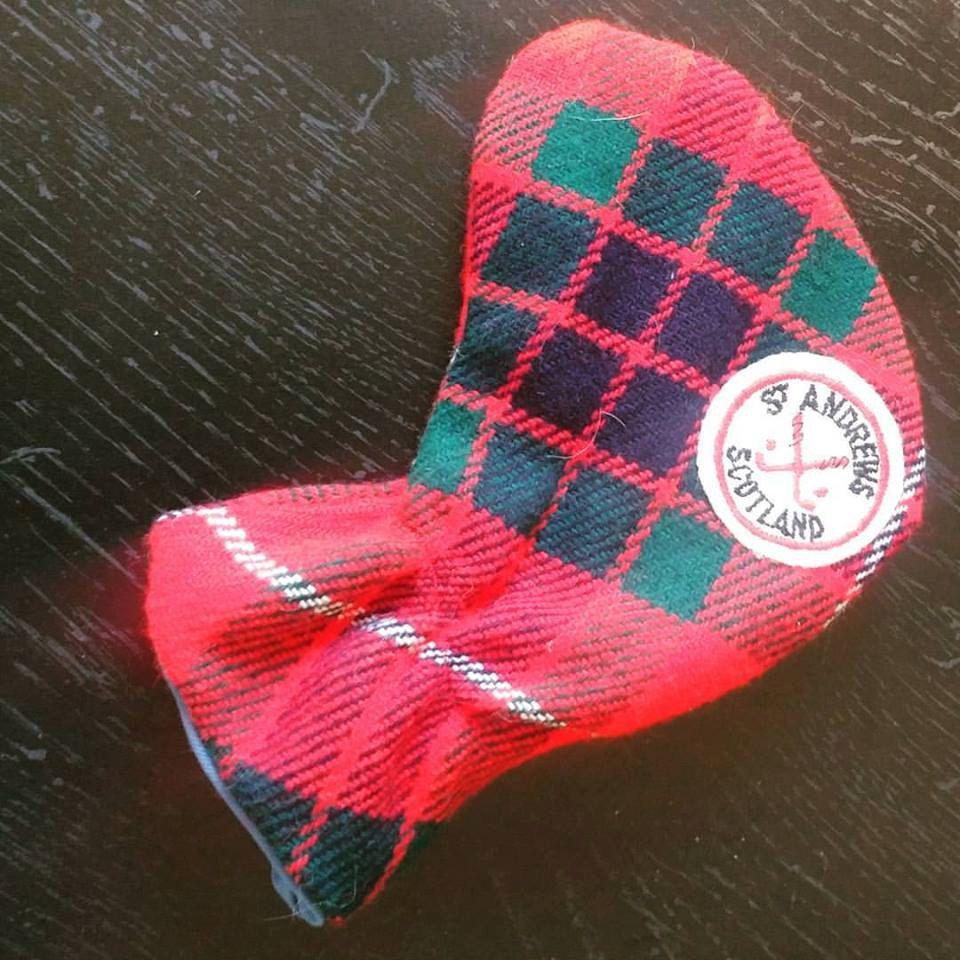 St Andrews Scottland Golf Club Warmer Cover Souvenir by EmilysCraftys on Etsy