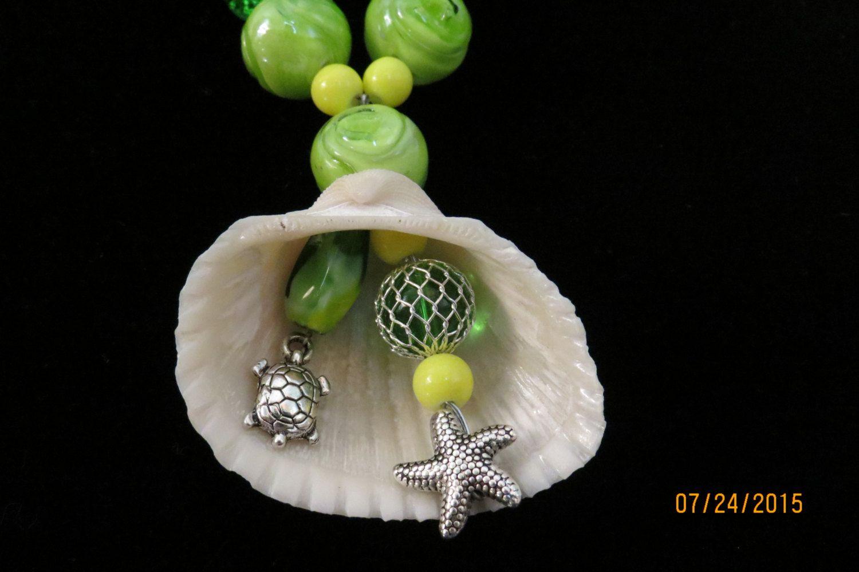 Handmade Seashell Necklace by SeaShellsByCarrie on Etsy