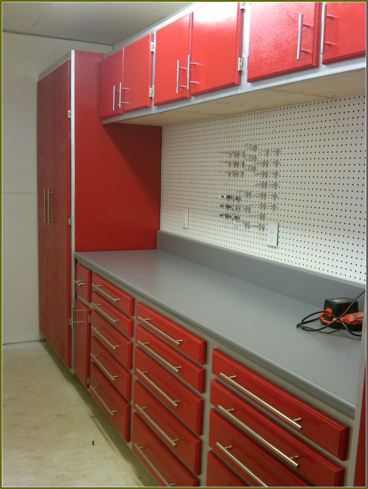 Garage Cabinet Plans Building Garage Cabinets With Kreg Jig Garage Storage Garage