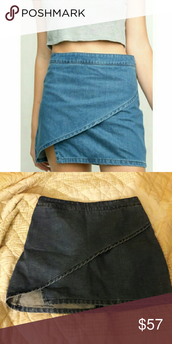 Brandy Melville Audrey denim skirt RARE Rare skirt, highly sought after Brandy Melville Skirts Mini