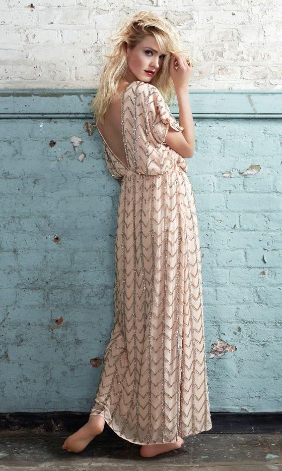 Dorothy Perkins SS12 Stunning Sequin Maxi Dress