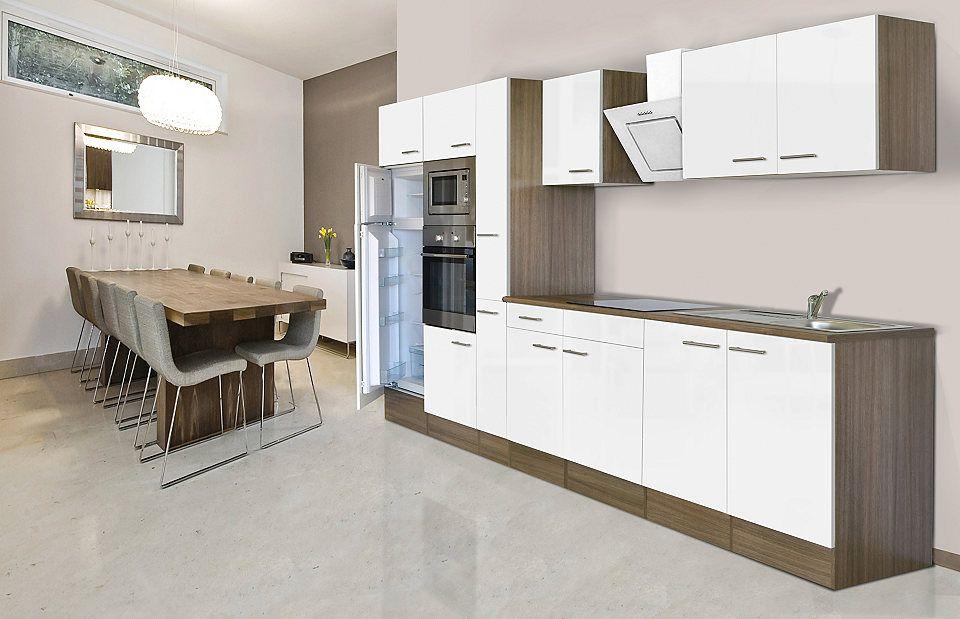 Respekta Küchenzeile mit E-Geräten »York«, Breite 360 cm Jetzt