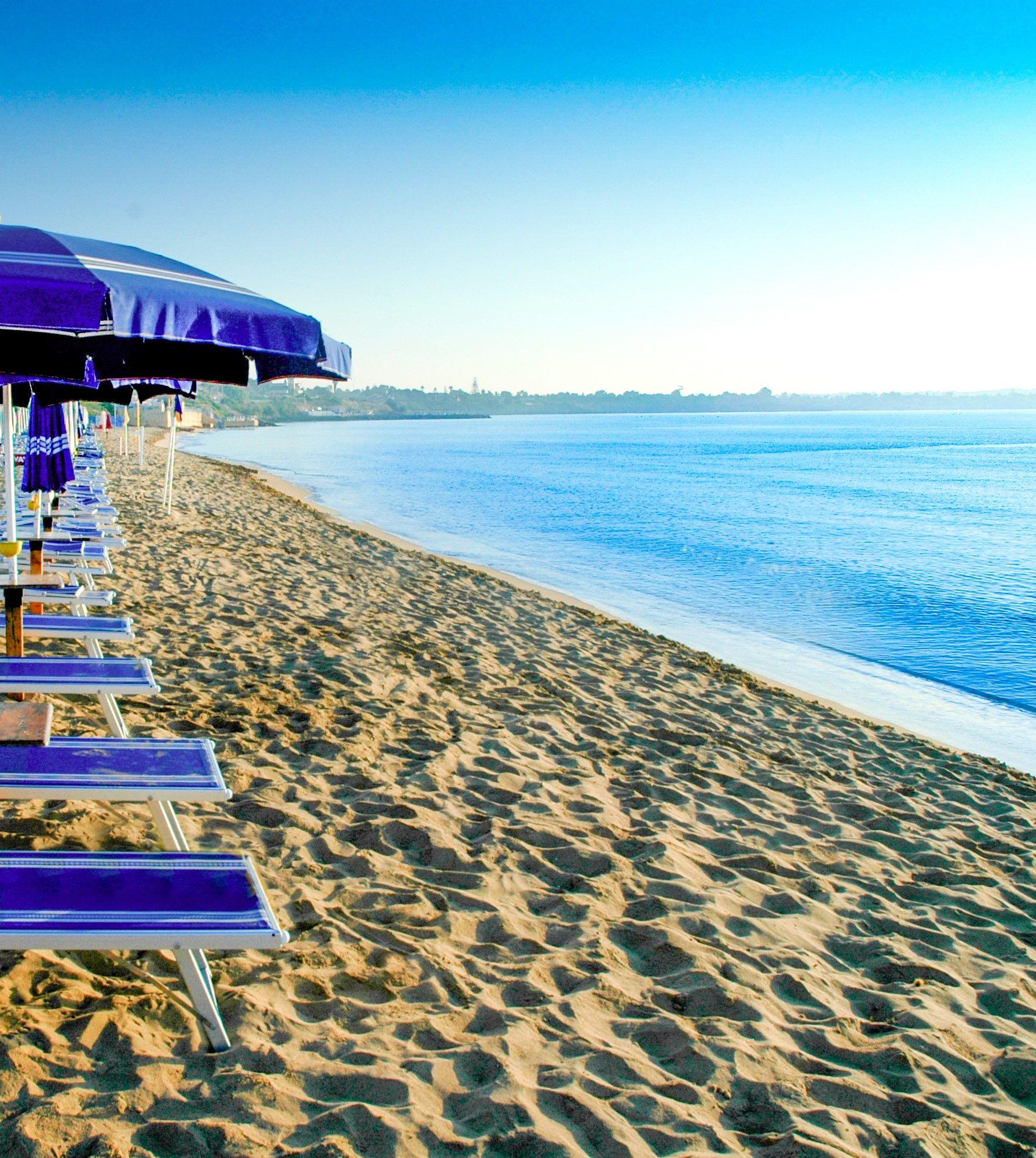italien urlaub aranella resort hotel strand sandstrand