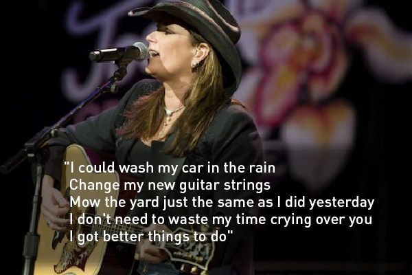 Terri Clark – Better Things to Do Lyrics | Genius Lyrics
