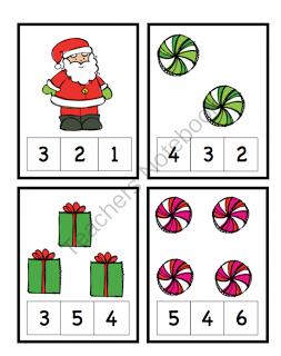 preschool printables christmas kiga mathematik kindergarten ideen mathe und schule. Black Bedroom Furniture Sets. Home Design Ideas