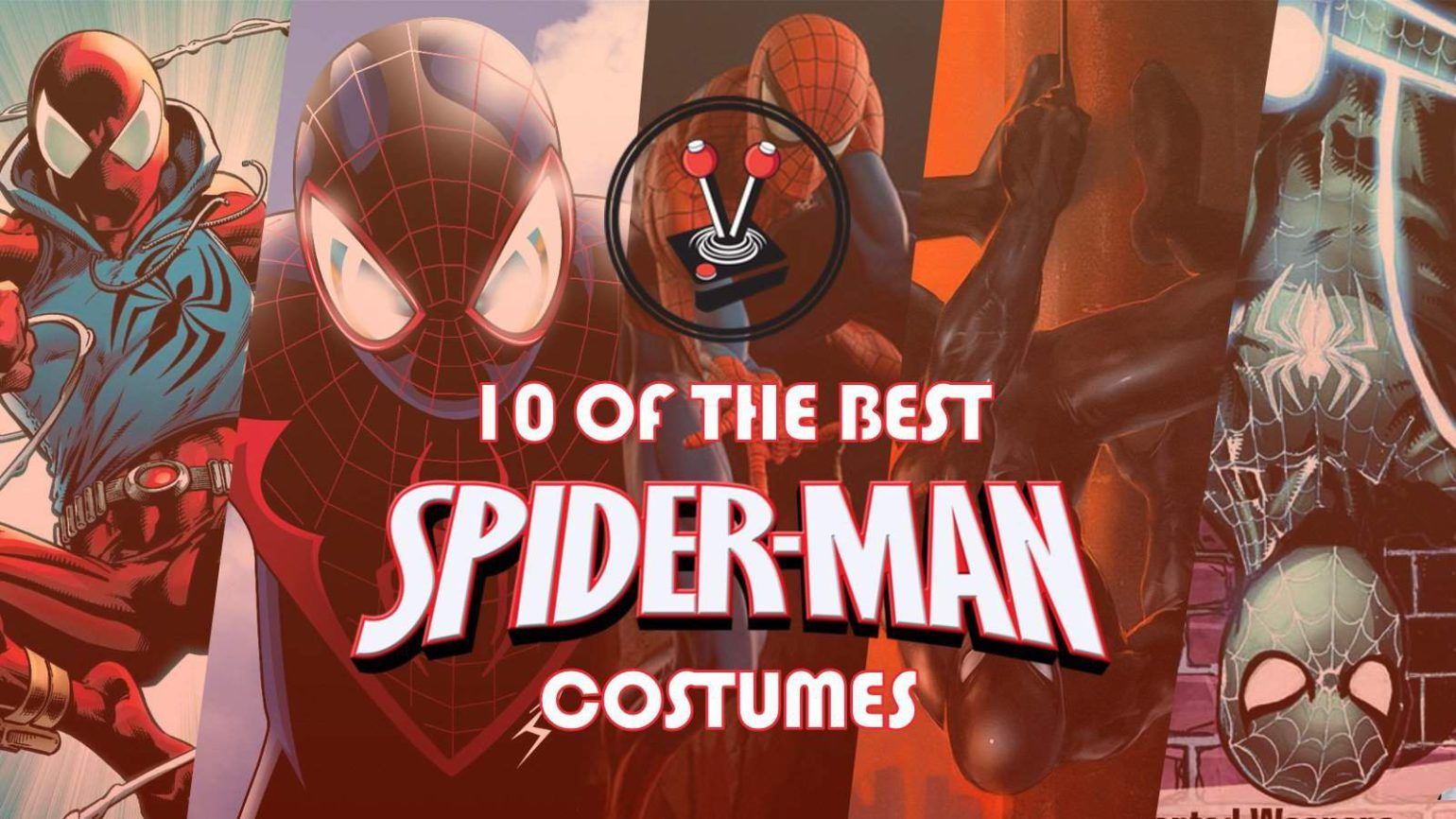 Marvel's official list of Spider-Man's 10 best costumes is good, but it could be better. So here is a new list of 10 of the best Spider-Man Costumes.