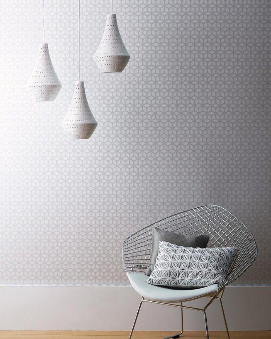 Zelor | art | Geometric wallpaper, Trellis wallpaper, Modern wallpaper