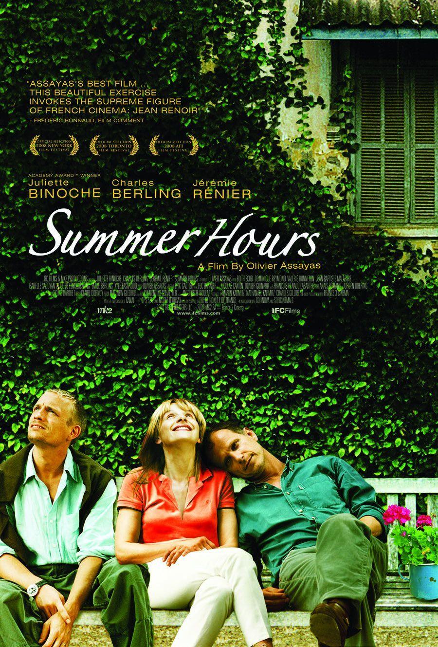 L Heure D Ete Summer Hours 2008 Olivier Assayas With Images