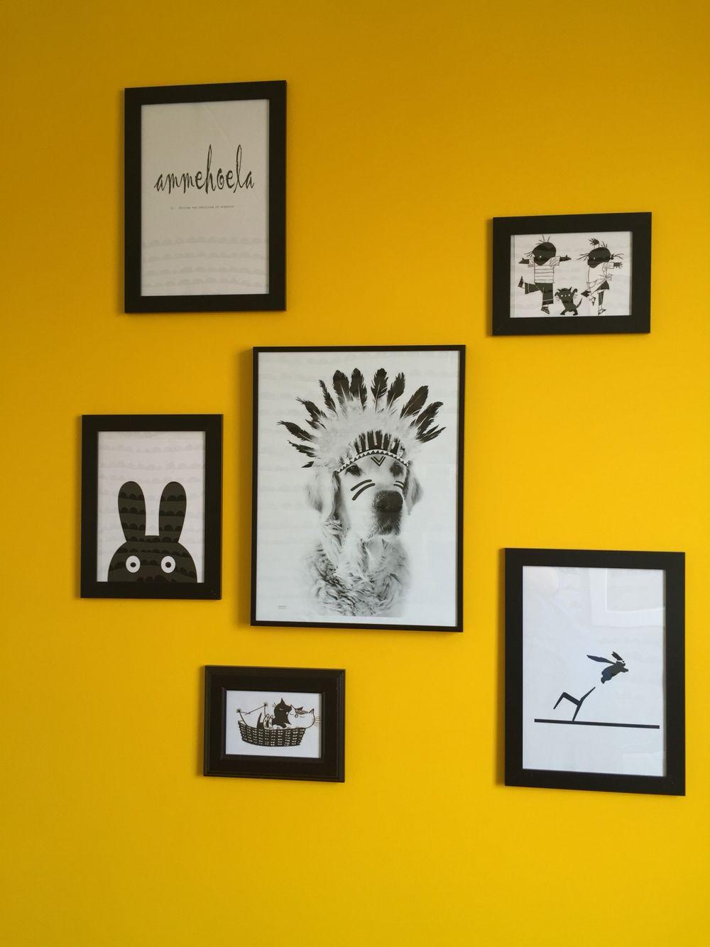 Kinderkamer Zwart Wit Geel