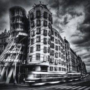 Dancing House I Prague Black White Prague Pinterest Prague