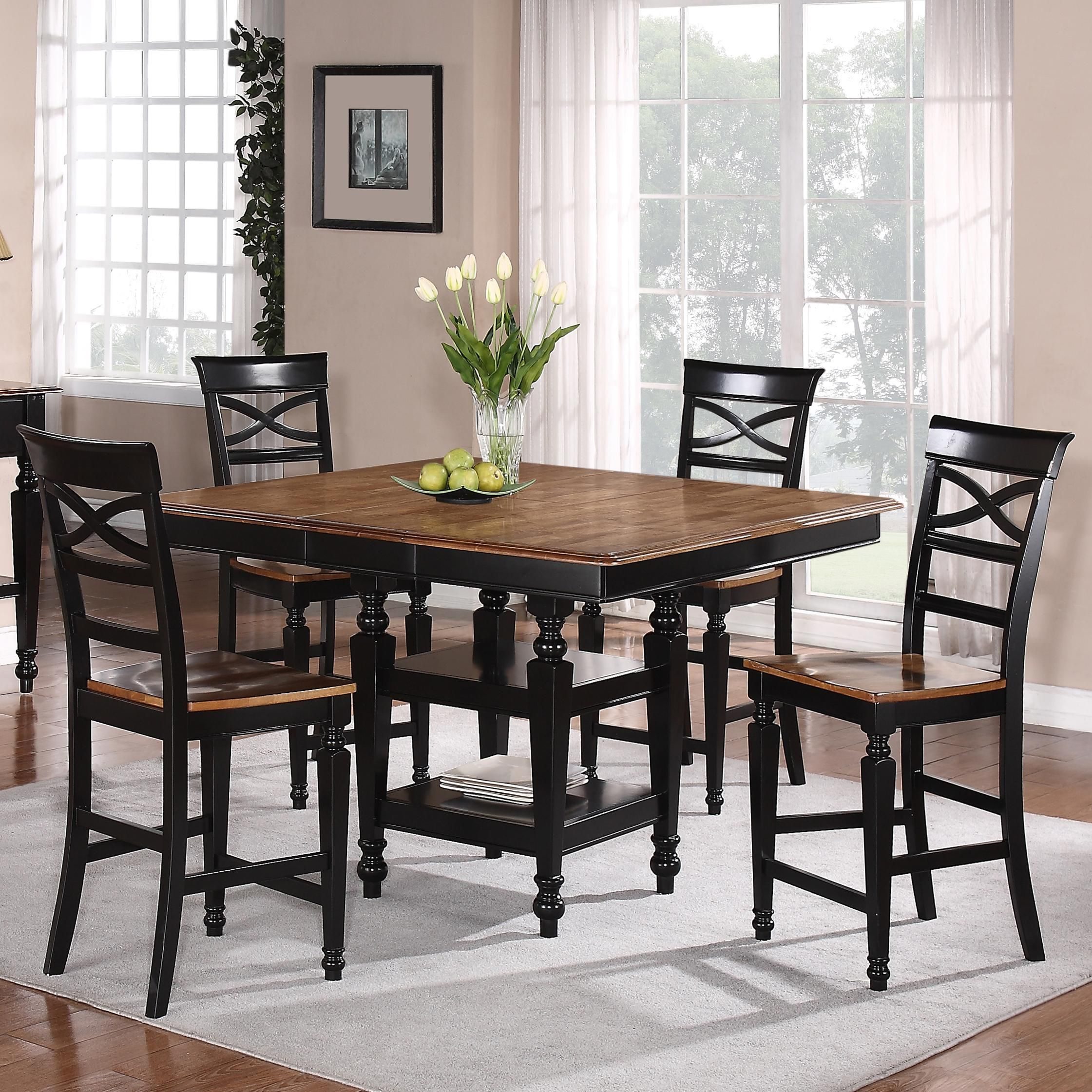 Amelia Amelia Counter Height 5 Pc Dining Set By Holland House