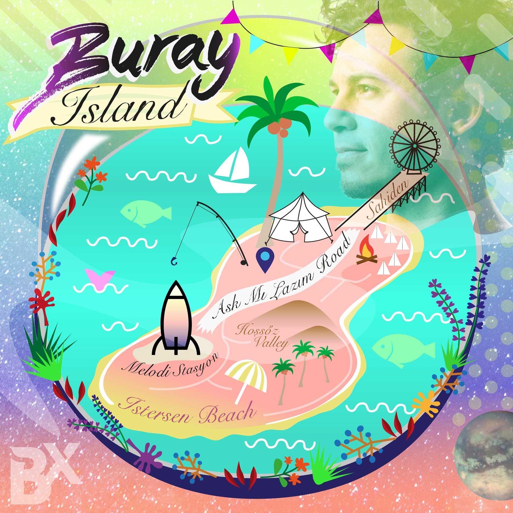 Art By Yoljoo Buray Island Visual Design Artwork Creative