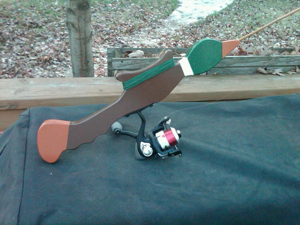 Modified green hornet ice fishing pinterest fishing for Green fishing rod