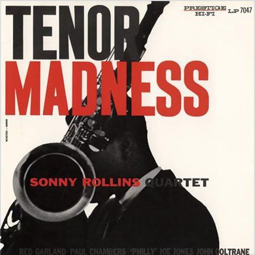 Sonny Rollins - Tenor Madness on LP