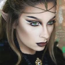 Image result for dark elf makeup tutorial More