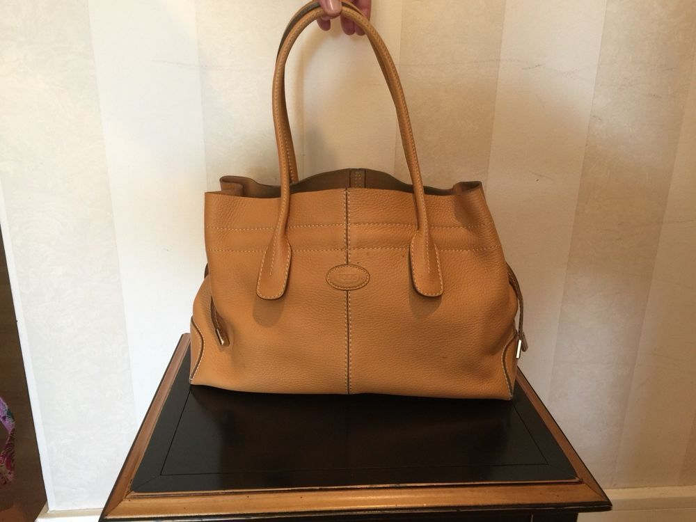 bde5a5d518 Tods all leather handbag camel color  fashion  clothing  shoes  accessories   womensbagshandbags (ebay link)