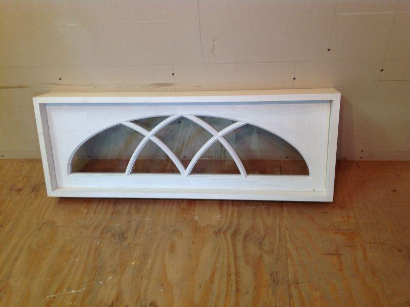 Gothic Arch Interior Transom Window Unit