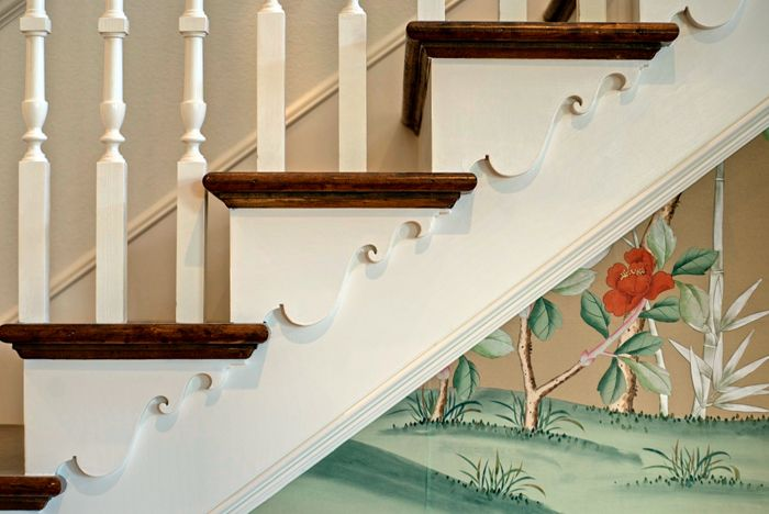 Early American Staircase