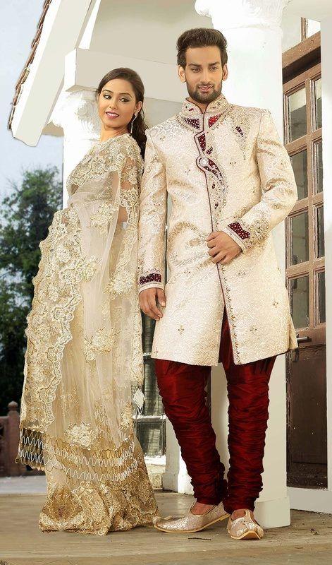 Sherwani Marriage Ceremony Dresses Designs For Men (5) | Wedding ...