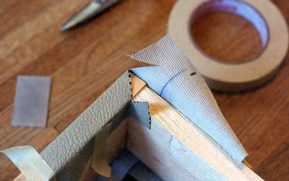 How To Apply Tolex To A Guitar Amplifier Cabinet