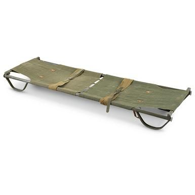 Used Swedish Military Stretcher / Bed | Thrifty | Military