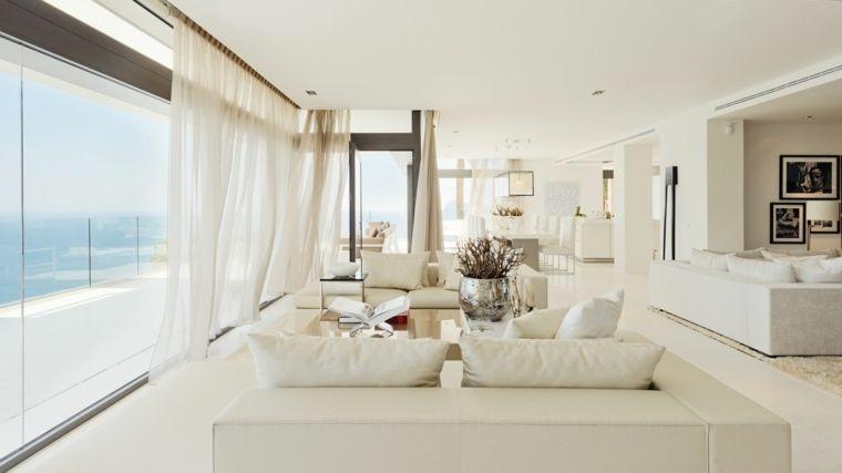 Intérieur maison moderne  plus de 50 idées pour découvrir le blanc