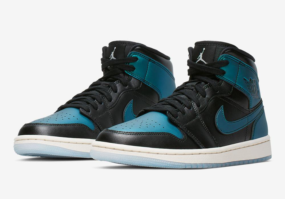 Air Jordan 1 Mid Iridescent Bq6472 009 Wmns Release Info Sneakernews Com Air Jordans Jordan 1 Mid Nike Women