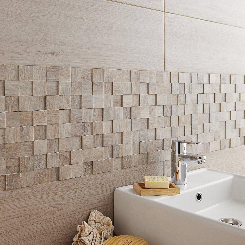 La Mosaique Revisite Les Carreaux De Ciment Avec Images Carrelage Salle De Bain Leroymerlin Salle De Bain Salle De Bain Castorama