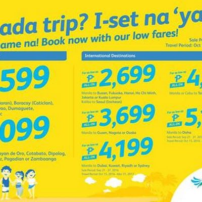 Cebu pacific promo fare tickets, Air Asia Red Hot Sale, Philippine Airlines  weekend special sale! Book these cheap air… | Cheap airfare, Cheap flights,  Cebu pacific