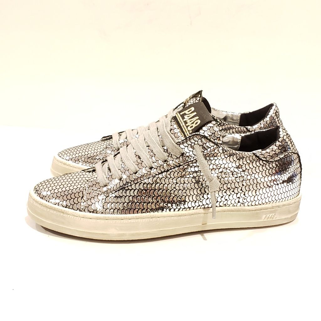 p448 Shoes | P448 Amazing Sneakers 37 | Color: Silver | Size