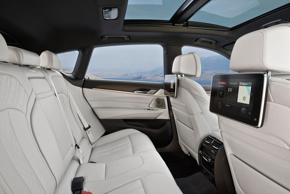 Bmw 6 Series Gran Turismo Rear Seats Bmw 6 Series New Bmw Bmw