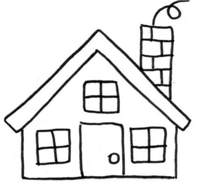 Boucle du0027or et les 3 ours  images et fiches pour la petite section - dessin de maison a imprimer