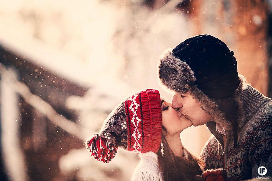 сейчас фото целующихся пар зимой высокого