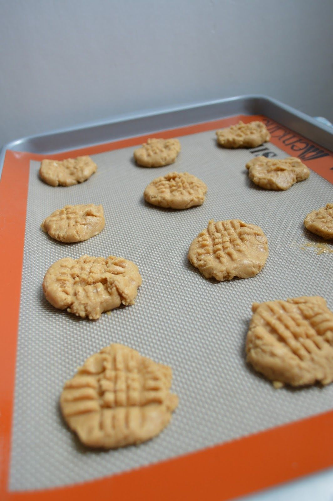 Two Spoonfuls- Peanut Butter Banana Cookies