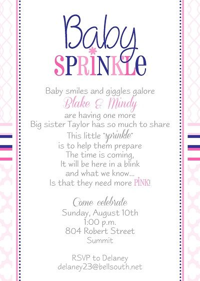 Including Sibling On Baby Shower Invite