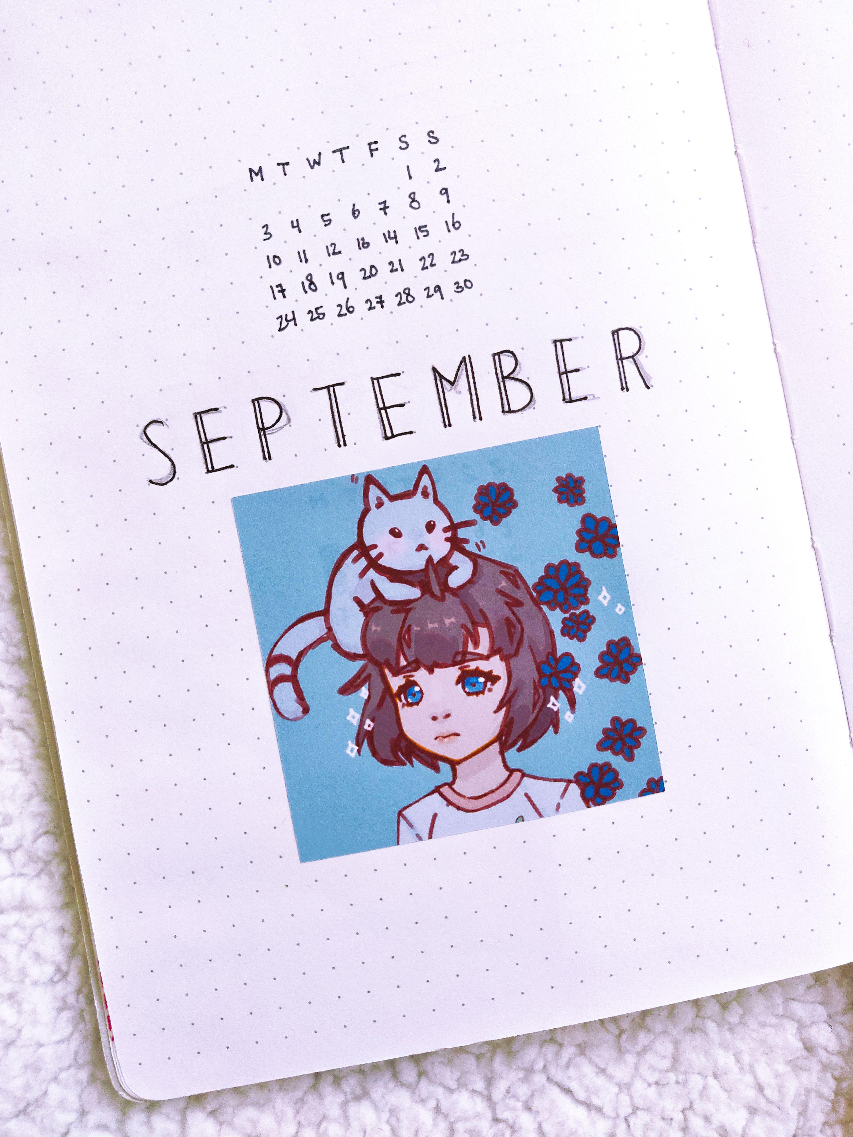 Japanese Anime Cat Girl Aesthetic Sticker Pack Kawaii