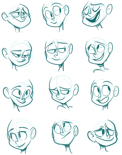 Drawing Cartoon Faces Expression Expressions Face