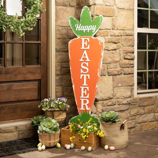 Huge Carrot Porch Sign