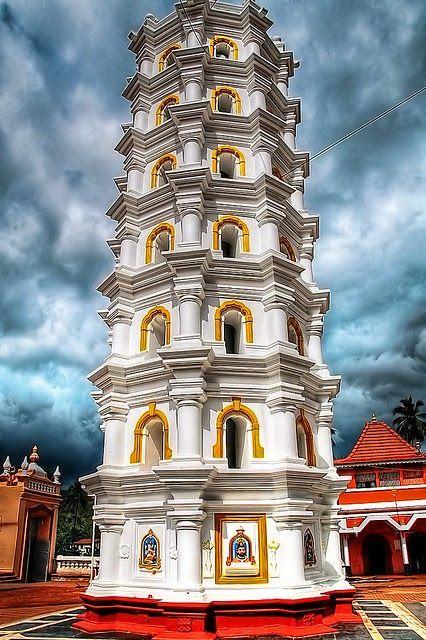 Shree Mangeshi chrám v Goa