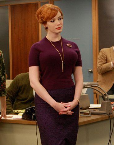 a2d9309b4 Dress like Joan from Mad Men | workwear | Joan mad men, Mad men ...