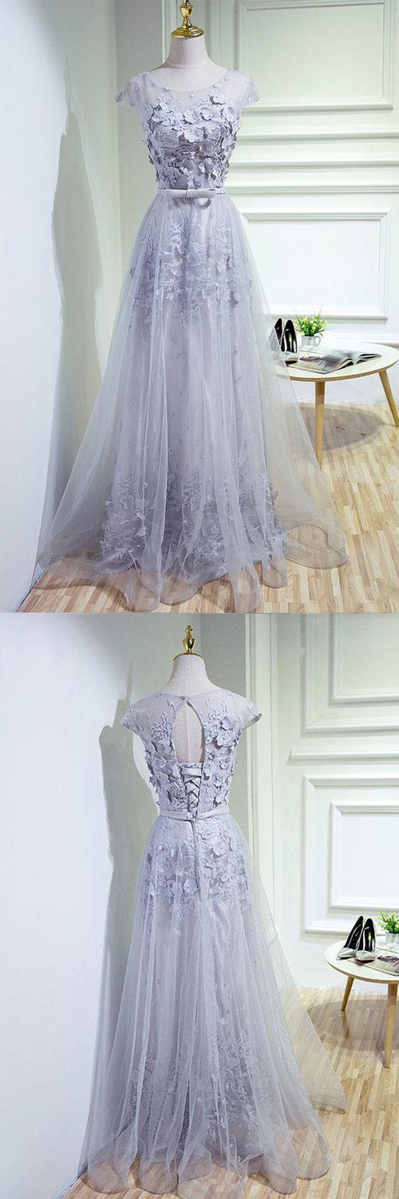 Simple white chiffon backless long dressmb love u fashion