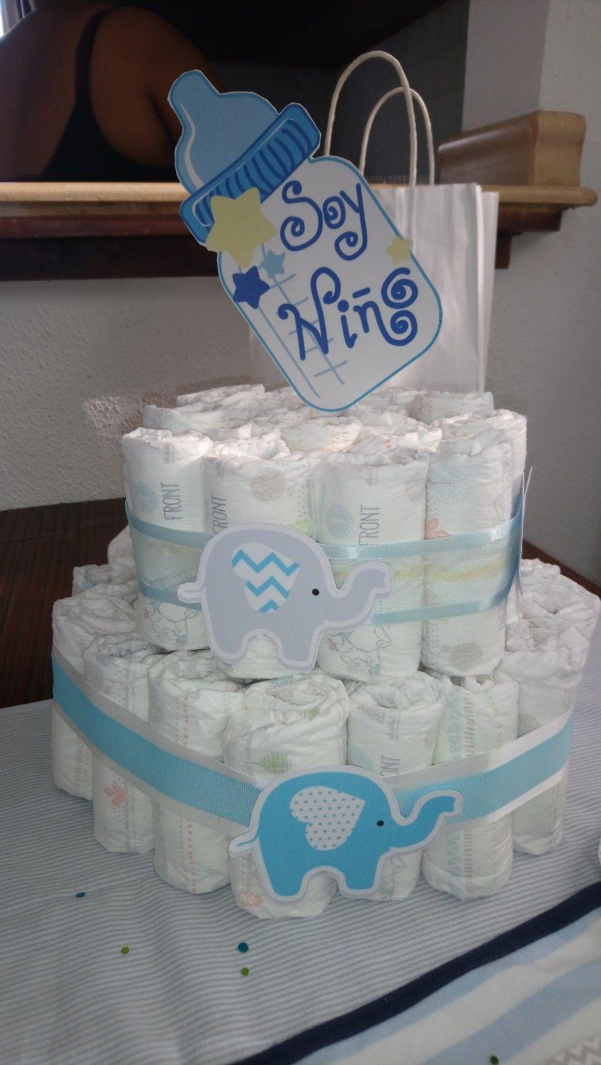 Torre De Panales Baby Shower Nino Baby Shower Baby Shower Nino Panales
