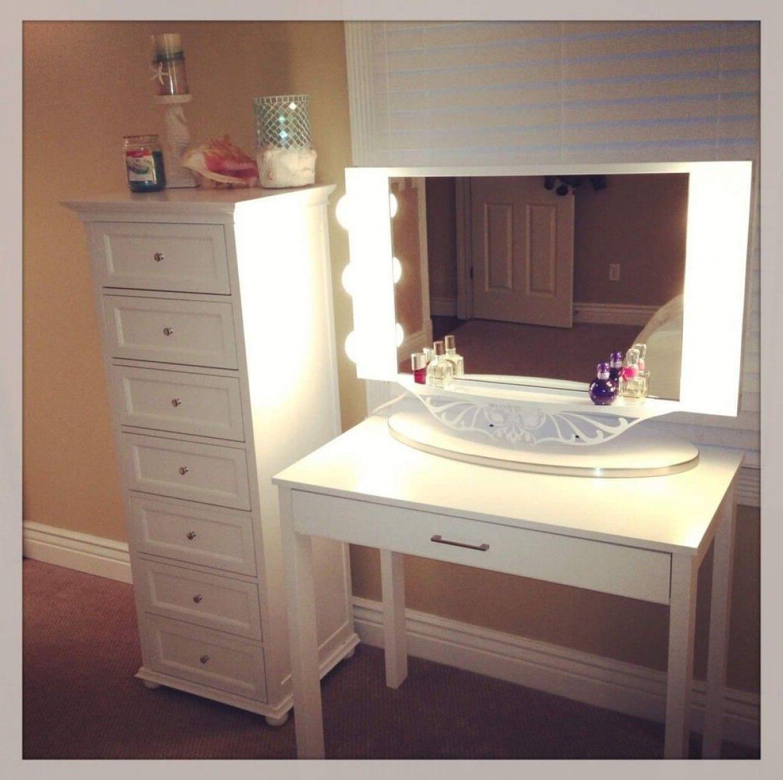 25 DIY Vanity Mirror Ideas with Lights Diy vanity mirror