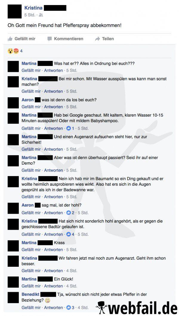 Aus Schaden wird man(n) klug - Facebook Fail des Tages 08 ...