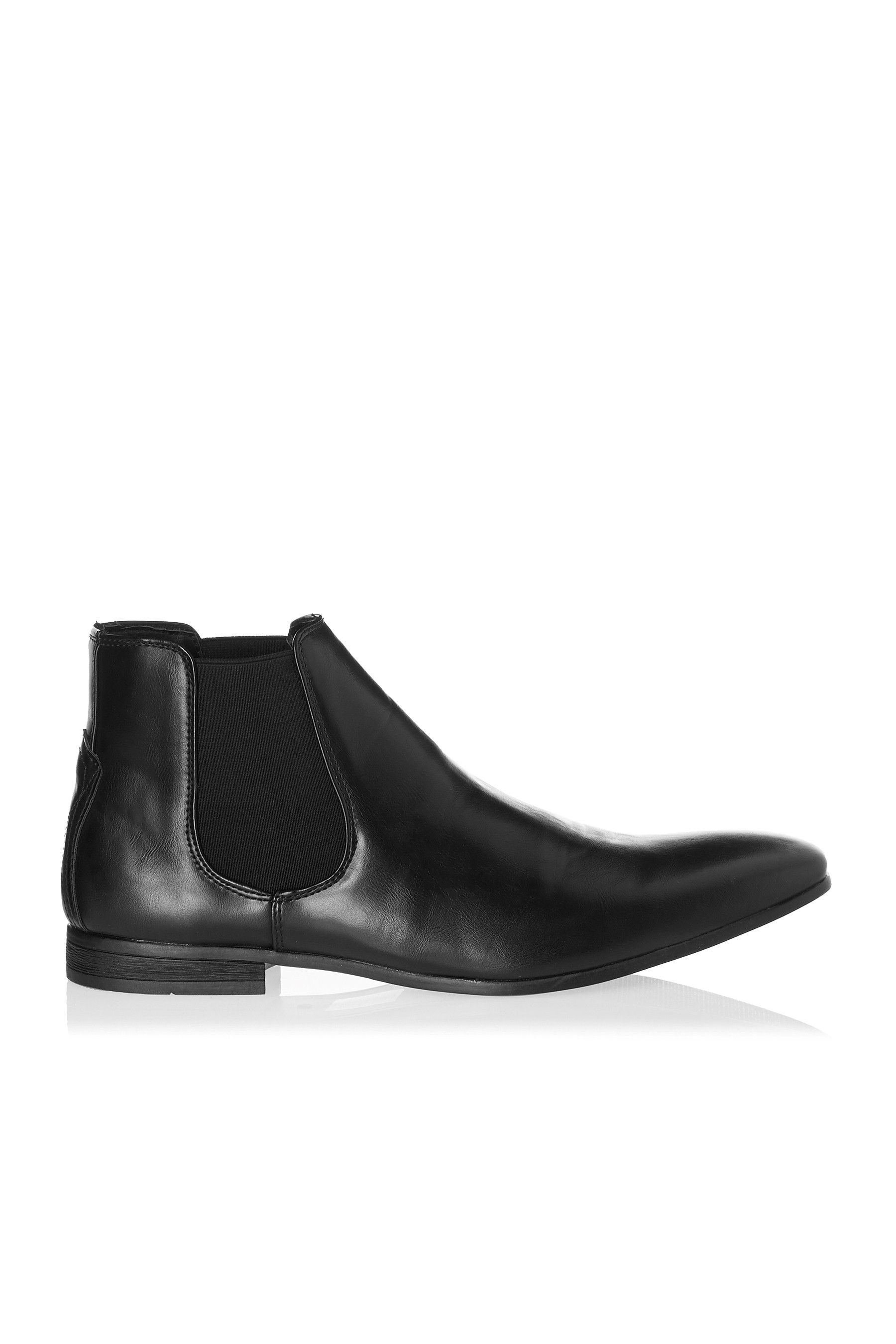 Mens Boohoo Man Chelsea Boot Black in 2019 | Products