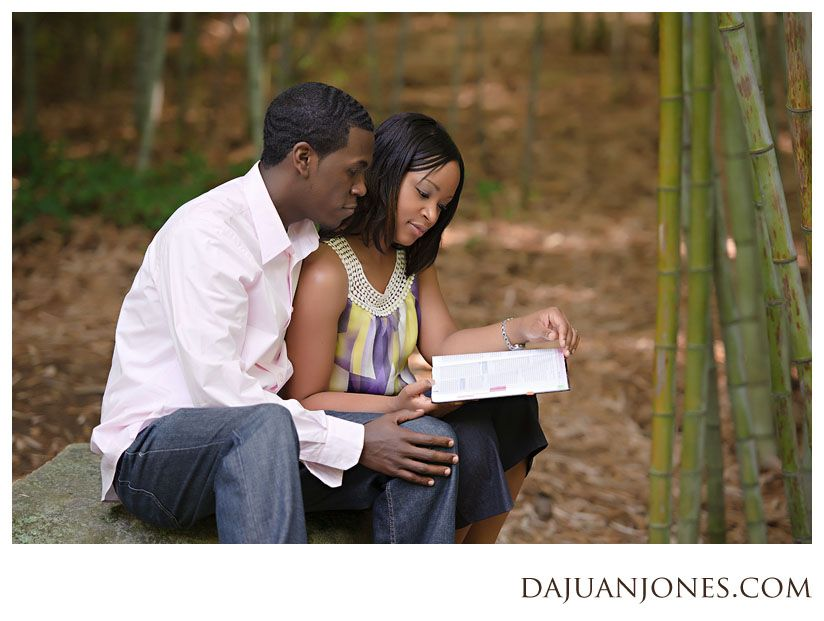 dajuan jones photography | Engagement Photography at Duke Gardens: Tobias + Jennifer