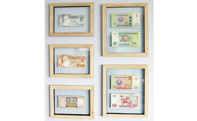 framed currency - https://www.facebook.com/different.solutions.page ...