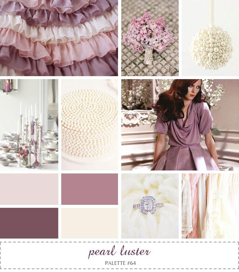 Color Scheme For Studio Plum Dusty Rose Pink Mauve Plum